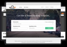 Developing a Vehicle Rental Platform using a Ready-made Car Rental Script