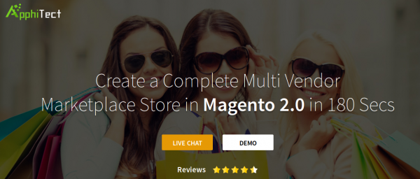 Apphitect Magento 2 Marketplace for Building Multi Vendor Store