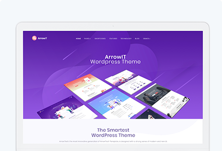 ArrowIT - Technology, Digital Transformation WordPress Theme [ Intro Price: Only $ 19 ]