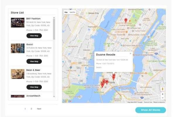 Free Store Locator Magento 2