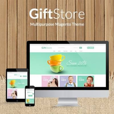 Free Giftshop Beautiful Magento Theme