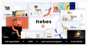 Hebes - Multipurpose Magento 2 Theme