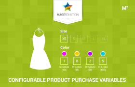 Configurable Product Purchase Variables for Magento 2