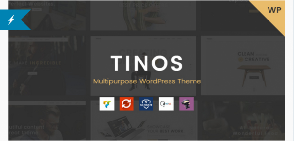 TINOS - Multipurpose WordPress Theme | $59,00
