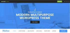 MOKAR - The newest Multipurpose Wordpress theme just released