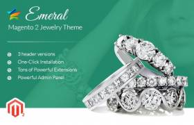 Emeral - Magento 2 Jewelry Theme