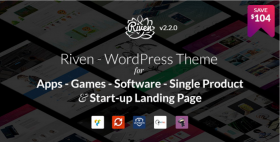 Lovely design and fast response when posing technical queries - Riven Wordpress Theme