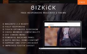BizKick – Free Magento 2 Theme