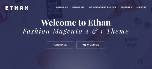 ETHAN - Best Magento Fashion Theme for Online Store 2017