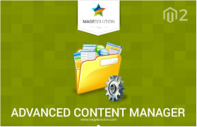 Advanced Content Manager Magento 2 extension