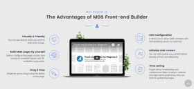 MGS Front-end Buider is available for Magento 2
