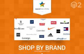 Best Magento Shop by Brand extension