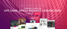 Best Landing Page WordPress Themes For App, Game, Software