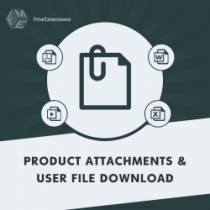 Magento 2 Product Attachments Extension
