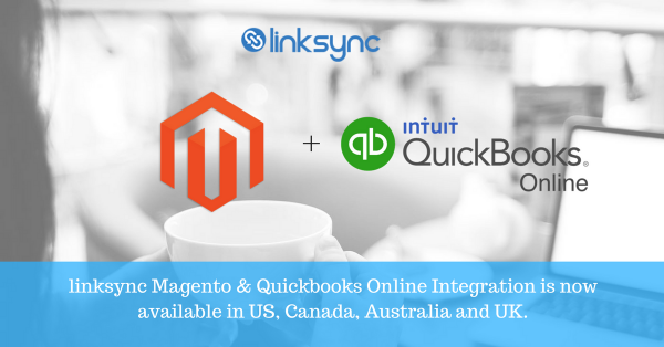 linksync Magento and QuickBooks Online Integration is now available in apps.com