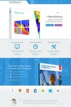 IT TheSofware 3 - Innovative and modern-looking flat design Joomla Theme