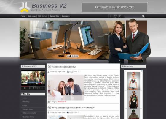 DD Business V2 44 Joomla 2.5 i 3.4 Responsive template
