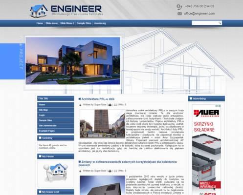 DD Engineer 47 Joomla 2.5 i 3.6 Responsive template
