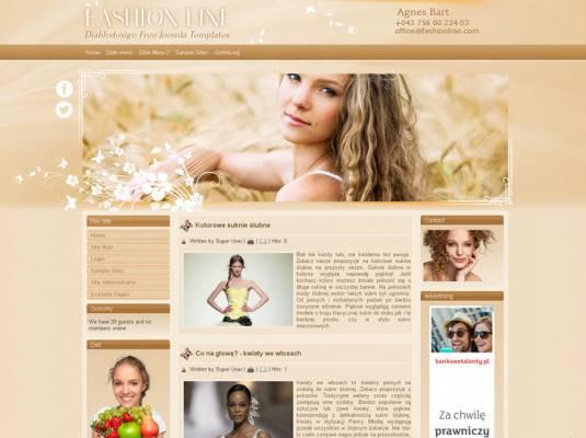DD Fashion Line Joomla 2.5 i 3.6