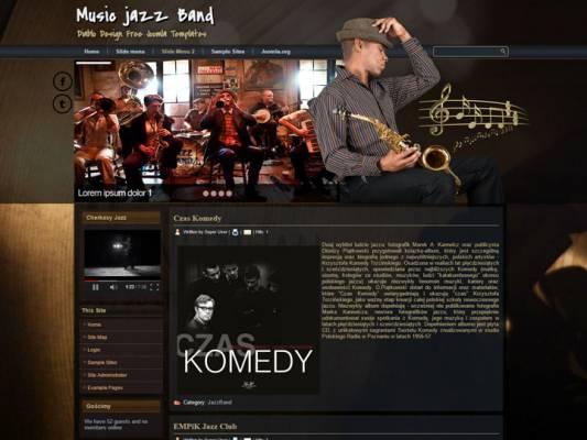 DD JazzBand 45 Joomla 2.5 i 3.6 Responsive template
