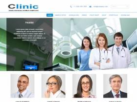 DD Clinic 100 Free Joomla template