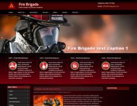 DD FireBrigade74 - free joomla bootstrap template