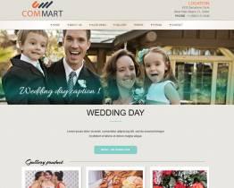 DD Wedding 92 Free Joomla templates