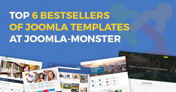 Here are 6 best-selling Joomla templates in 2019