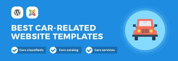 Best car related website templates