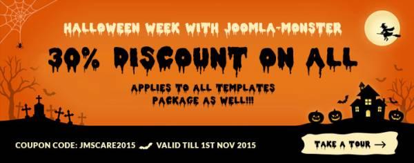 Halloween week with Joomla-Monster!