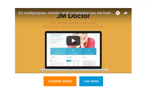 It's multipurpose Joomla medical template you are looking for!