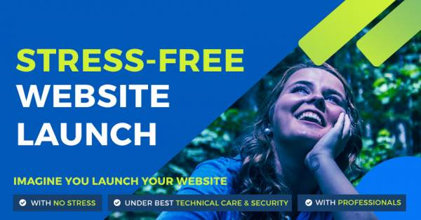 Imagine You create a website under the best technical care & no stress