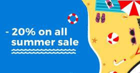 Summer sale - Joomla templates -20% OFF