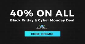 Black Friday Sale - grab Joomla templates -40% OFF