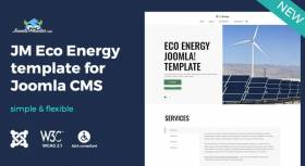 Meet eco energy Joomla template with WCAG and ADA compliance