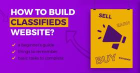 How to start a classified ads website?