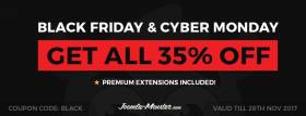 Black Friday and Cyber Monday 2017 deal!