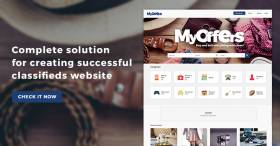 Complete solution for creating classified ads website