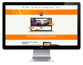 AT Nine Flat - Joomla Business Template