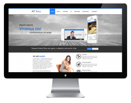 AT Nine - Responsive Business Template