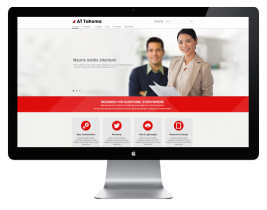AT Tahoma - Responsive Business template