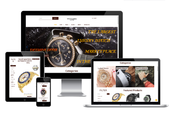 Watches Shop - Joomla eCommerce template for create watches store website