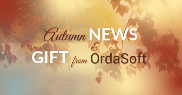 OrdaSoft news: results of Autumn work and gift for our clients