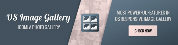 OS Joomla Image Gallery -- UPDATE -- version 5.0