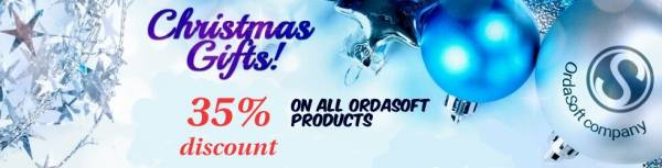 Meet Christmas and New Year with Ordasoft!