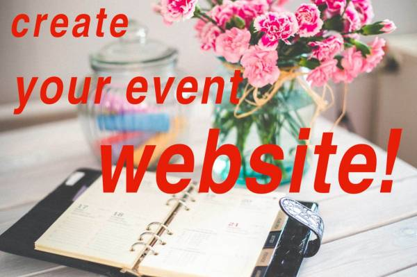 Create event website