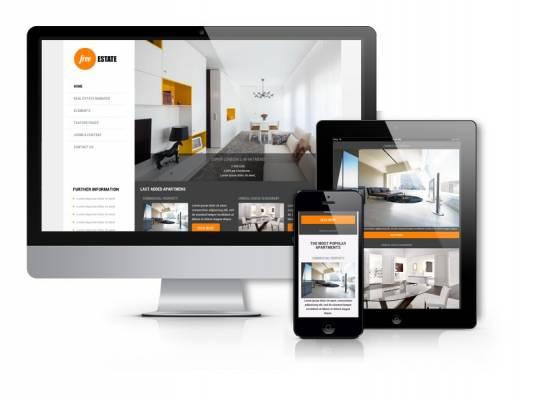 Free Estate - free real estate template