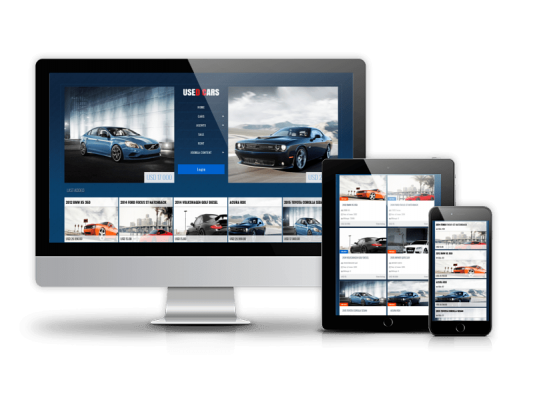 Used Cars - Automotive Joomla Template