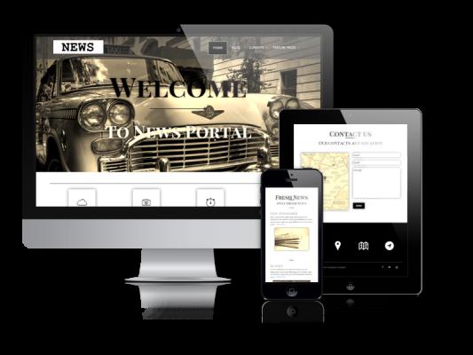 News - WordPress News Theme