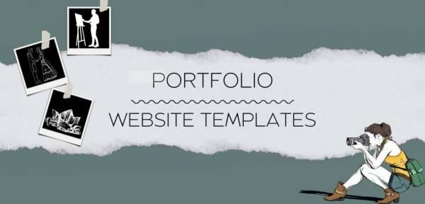 The Best Portfolio Website Templates Collection!